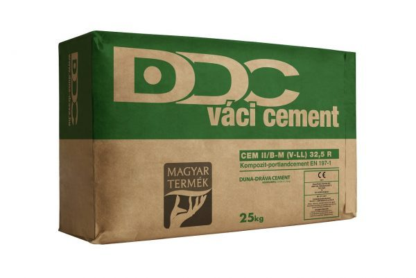 Cement Váci II/B-M (V-LL) 32,5 N 25 kg 14q/# BAUplaza Kft.