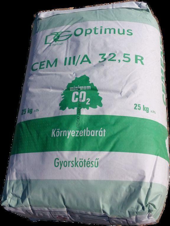 Cement Szlovák CEM II/B 32,5 R 25 kg/zs 14q/# BAUplaza Kft.