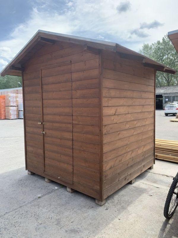 Szerszám tároló, faház, kiállított (2mx2m) BAUplaza Kft.
