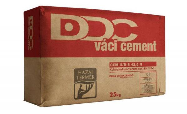 Cement Váci II/B-S 42,5 N 25 kg.(piros) BAUplaza Kft.