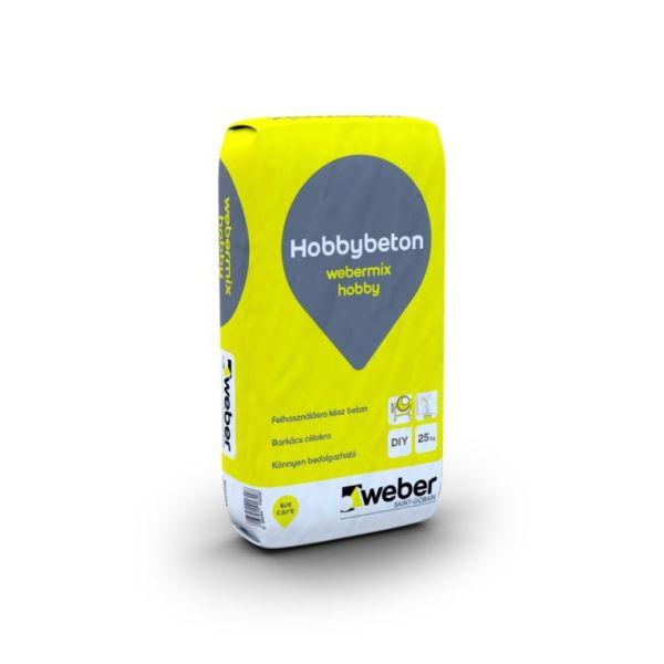 Weber Hobby beton 990 H 25kg/zsák 48zs/# BAUplaza Kft.