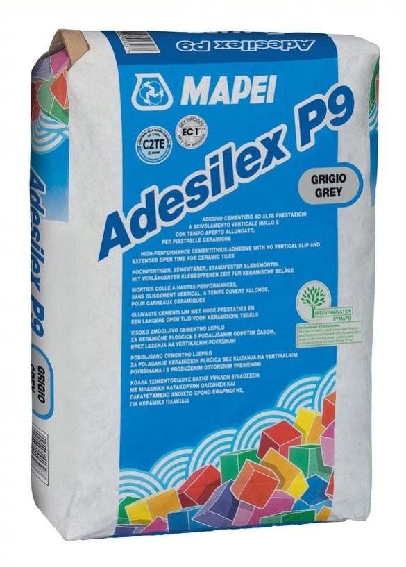 Mapei Csemperagasztó Adesilex szürke P9 flex 60x60 lapig(50zs/#) BAUplaza Kft.