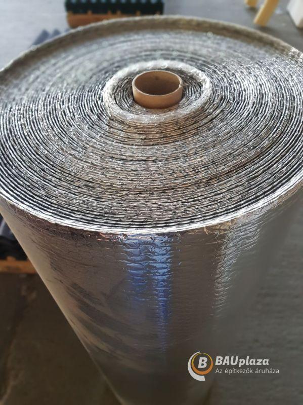 Fólia ISOFOL alukas. ezüst szőtt tetőfólia 37,5 m2/tek (Dufólia) BAUplaza Kft.
