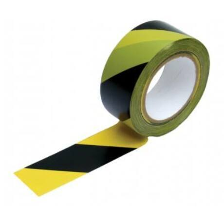 Kordon szalag fekete-sárga 250m BAUplaza Kft.