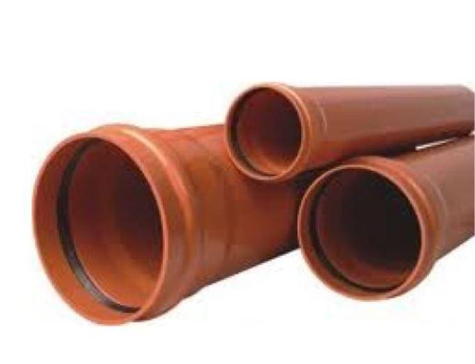 Csatorna cső 2m/125mm sárga BAUplaza Kft.