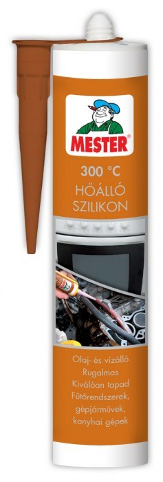Mester hőálló tömítő fekete 310ml BAUplaza Kft.
