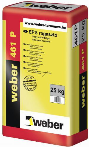 Weber EPS ragasztó 461P 25 kg/zsák 48/# BAUplaza Kft.