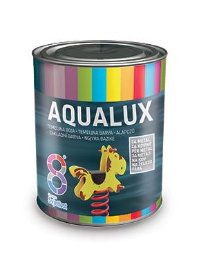 Aqualux alapozó fémre szürke 0,75l BAUplaza Kft.