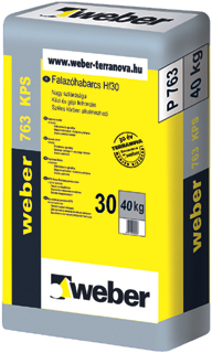 Weber Falazóhabarcs 763 KPS 40kg/zsák 30zs/# BAUplaza Kft.