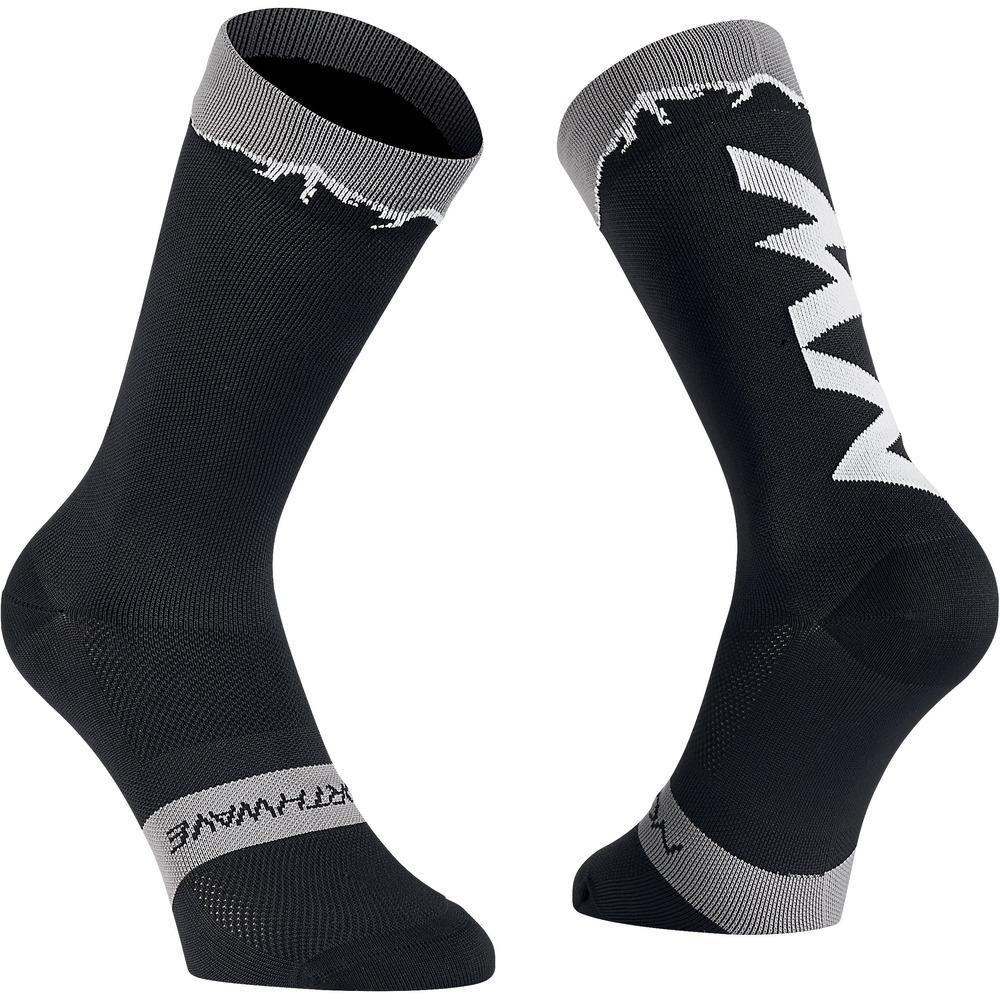 Northwave CLAN sportzokni - fekete (40-43)