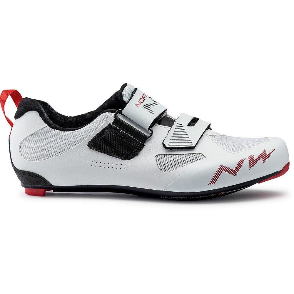 Northwave TRIBUTE2 CARBON cipő - fehér - 43