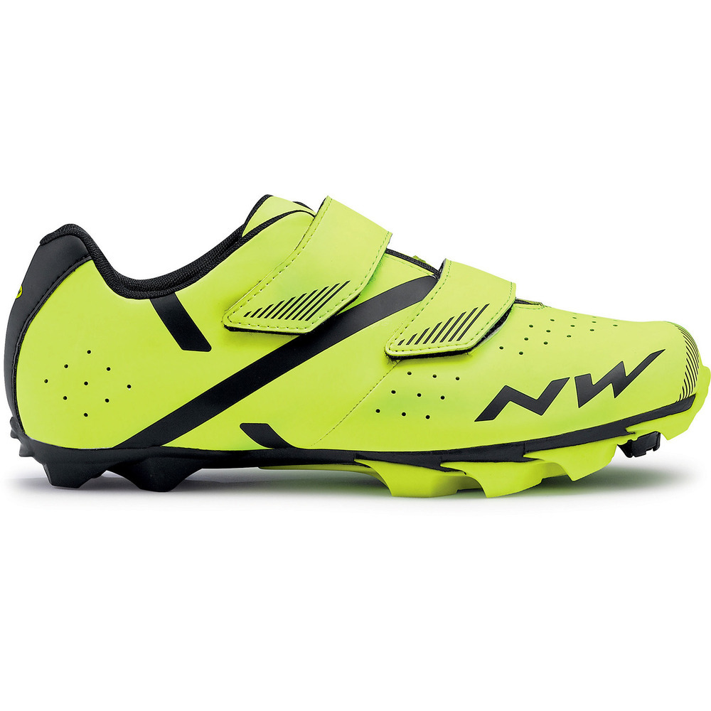 Northwave SPIKE 2 MTB cipő - fluo sárga - 42.5