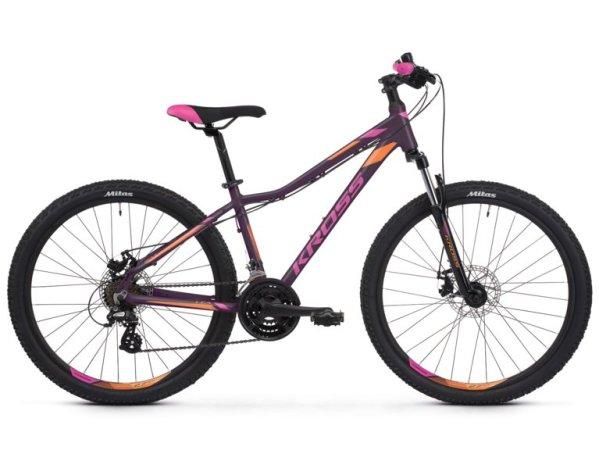 """KROSS Lea 3.0 női 26"""" MTB kerékpár - lila - XXS (2020)"""