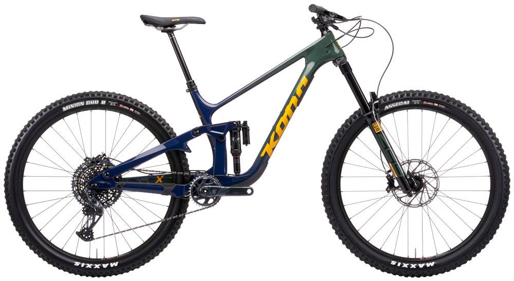"""KONA Process X DL downhill 29"""" kerékpár - indigó - M (2021)"""