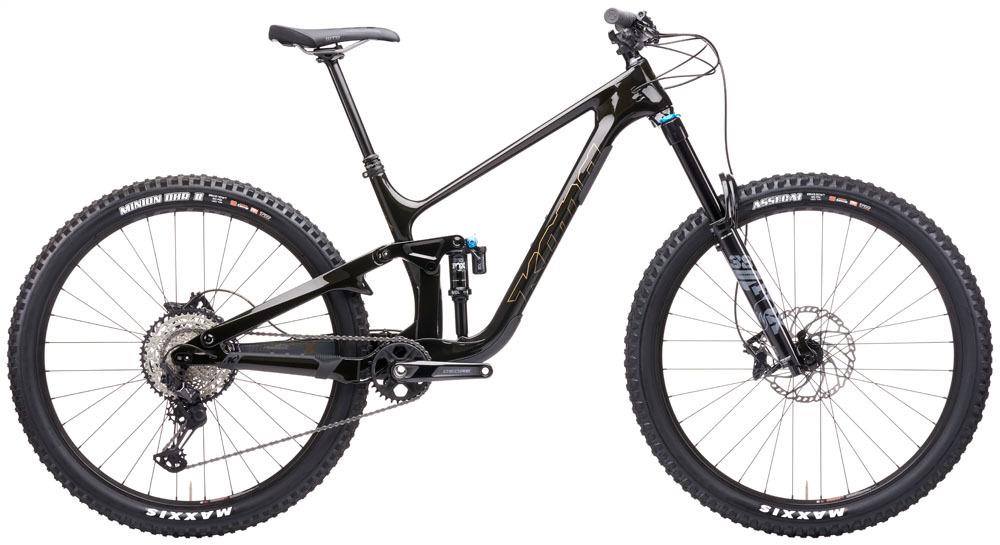 """KONA Process X downhill 29"""" kerékpár - fényes fekete - XL (2021)"""
