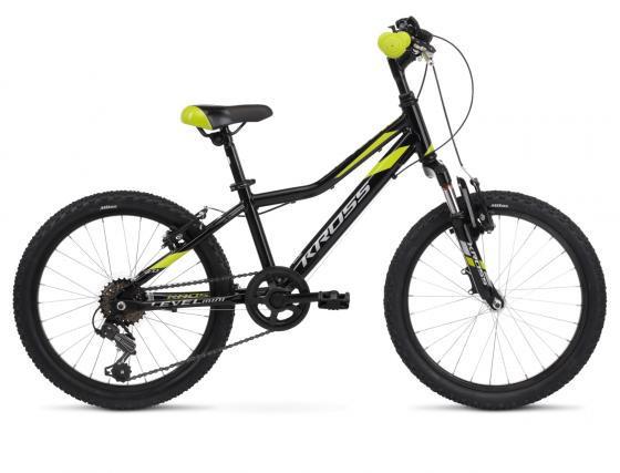 """KROSS LEVEL MINI 2.0 gyermek 20"""" kerékpár - fekete/sárga (2020)"""