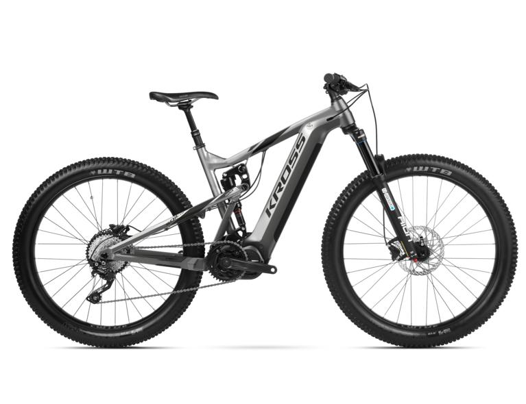 KROSS SOIL BOOST 1.0 630 27.5 MTB pedelec kerékpár - szürke - L (2020)