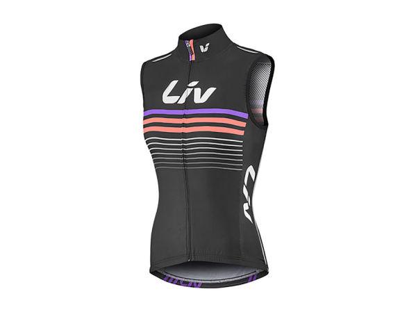 LIV RACE DAY női szélmellény - fekete - M