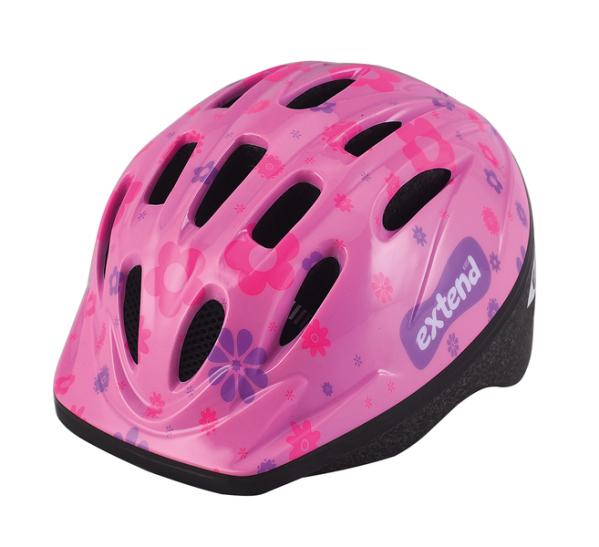 Extend LILLY gyermek sisak - pink (51-54 cm)