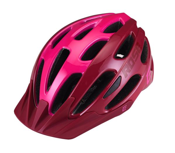 Extend ROSE sisak - bordó/pink (55-58 cm)