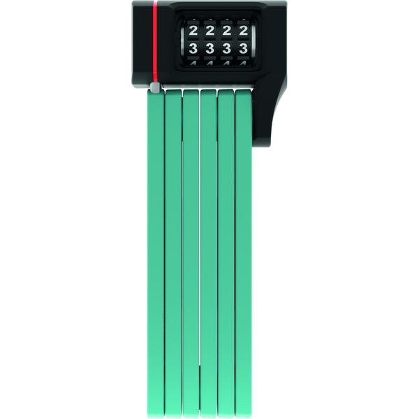 ABUS Bordo uGrip 5700C/80 hajtogatós lakat - core zöld SH tartóval