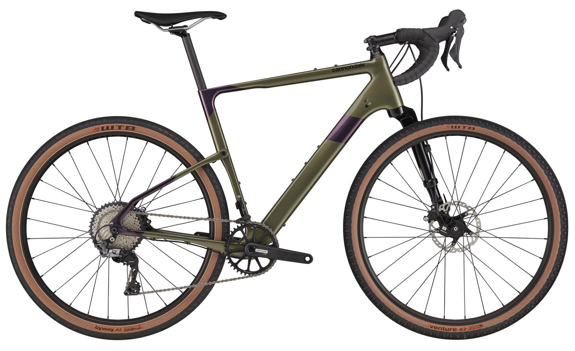 Cannondale Topstone Carbon Lefty 3 gravel kerékpár - matt zöld - M (2021)