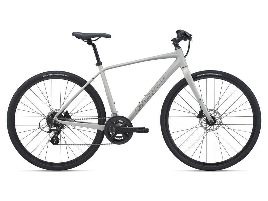 GIANT Escape 2 Disc férfi fitness kerékpár - szürke - XL (2021)
