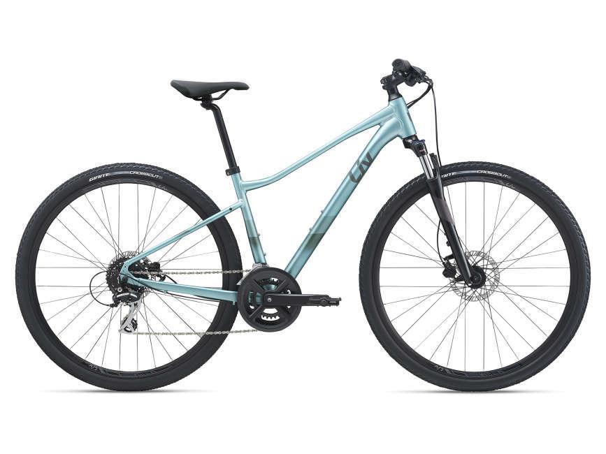 LIV Rove 3 DD női cross kerékpár - óceánkék - XS (2021)