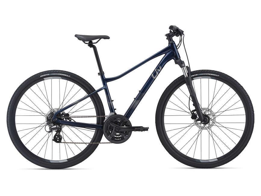 LIV Rove 4 DD női cross kerékpár - éjkék - M (2021)