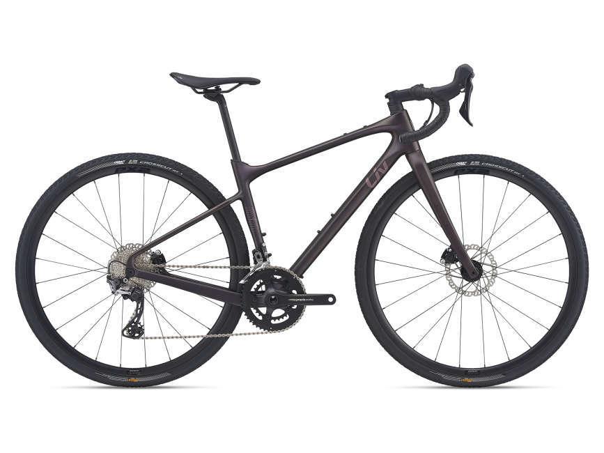 LIV Devote Advanced 2 női gravel kerékpár - rózsafa - M (2021)