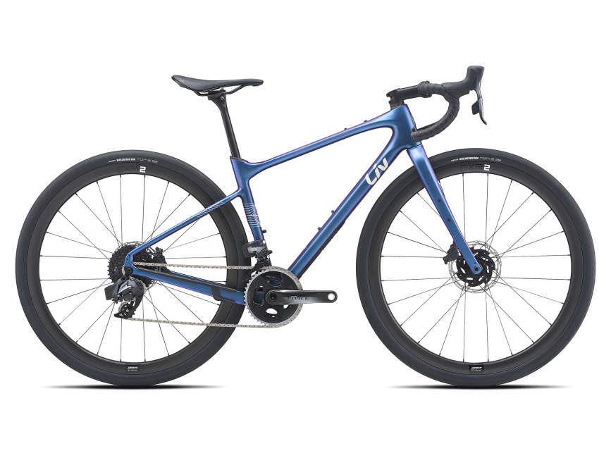 LIV Devote Advanced Pro női gravel kerékpár - kaméleon kék - M (2021)
