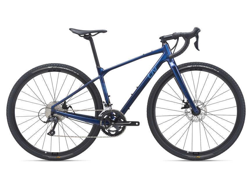LIV Devote 2 női gravel kerékpár - kék - XS (2021)
