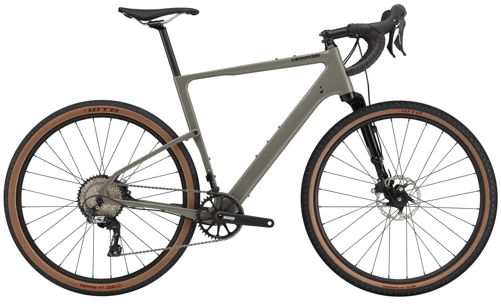Cannondale TOPSTONE CARBON LEFTY 3 gravel kerékpár - szürke - S (2021)