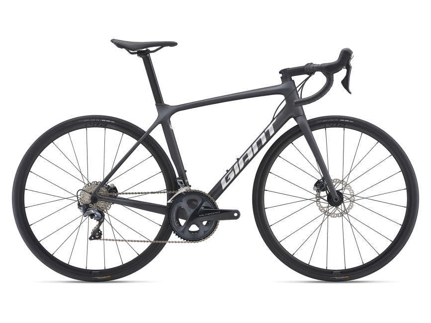 GIANT TCR Advanced 1 Disc KOM országúti kerékpár - fekete - M/L (2021)