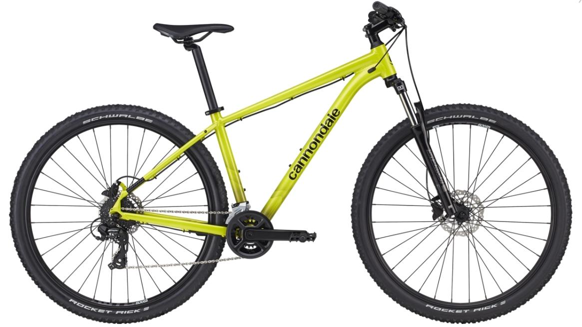 """Cannondale Trail 8 férfi 27.5"""" MTB kerékpár - sárga - S (2021)"""
