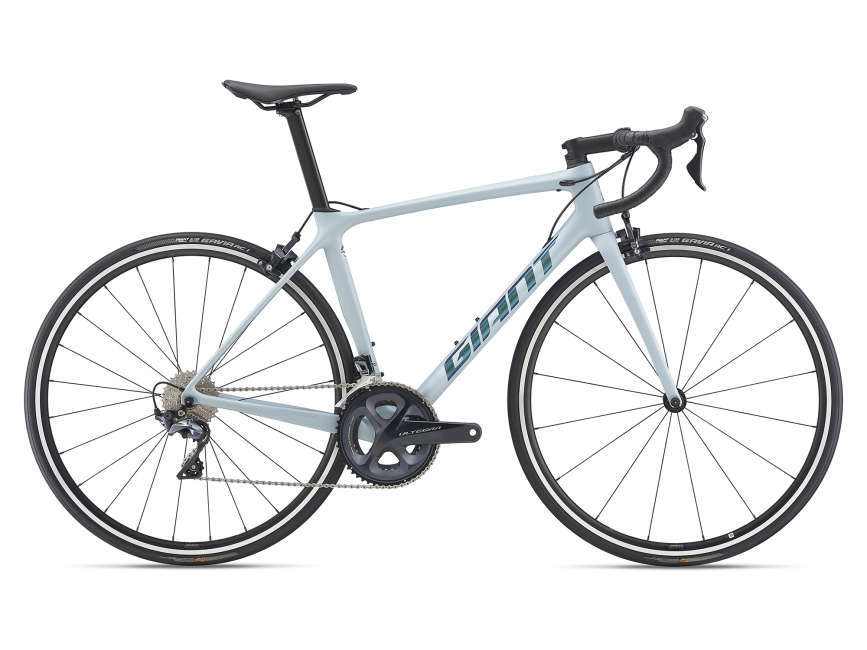 GIANT TCR Advanced 1 KOM országúti kerékpár - világoskék - M (2021)