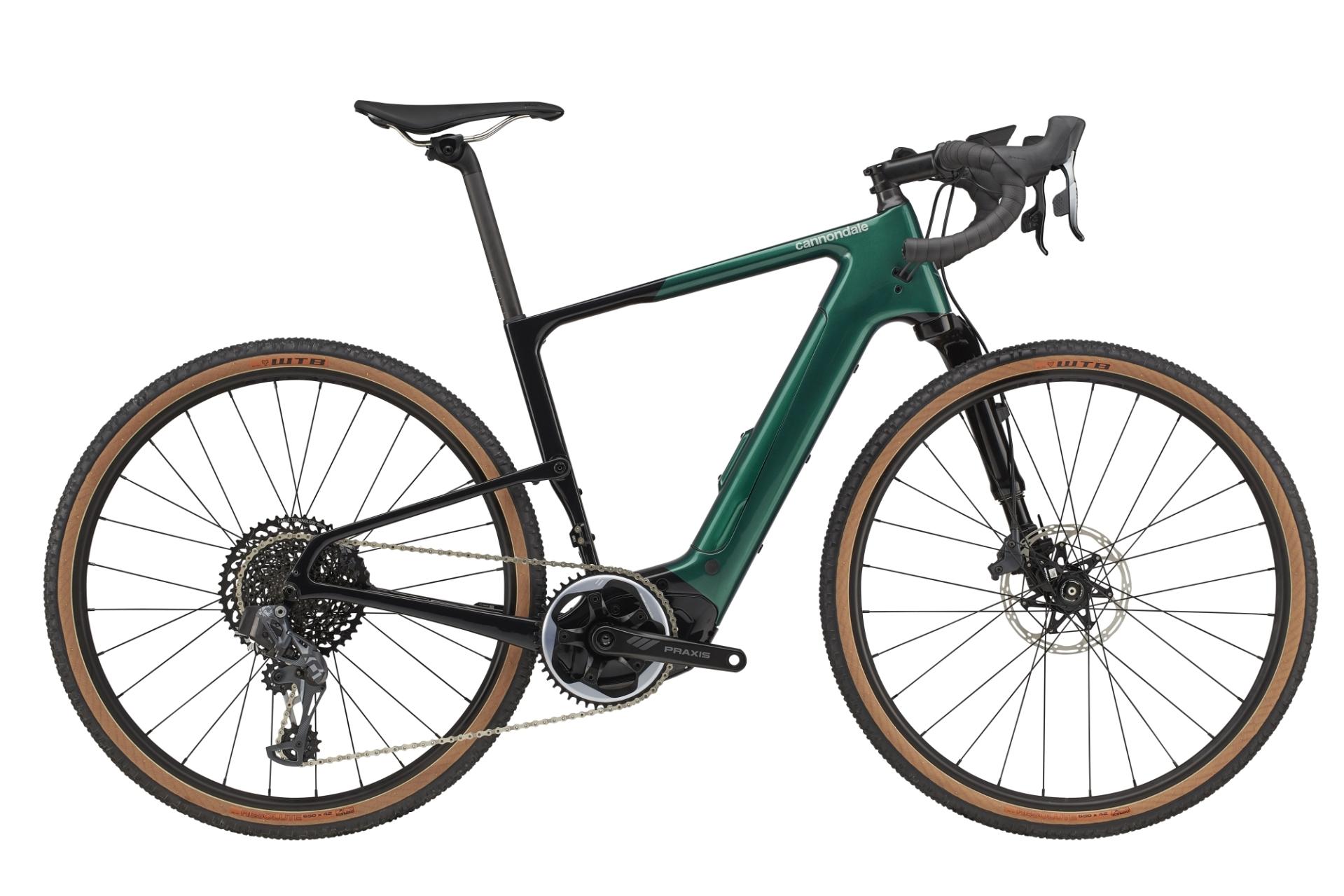 Cannondale Topstone Neo Carbon 1 Lefty pedelec gravel kerékpár - emerald - M (2021)