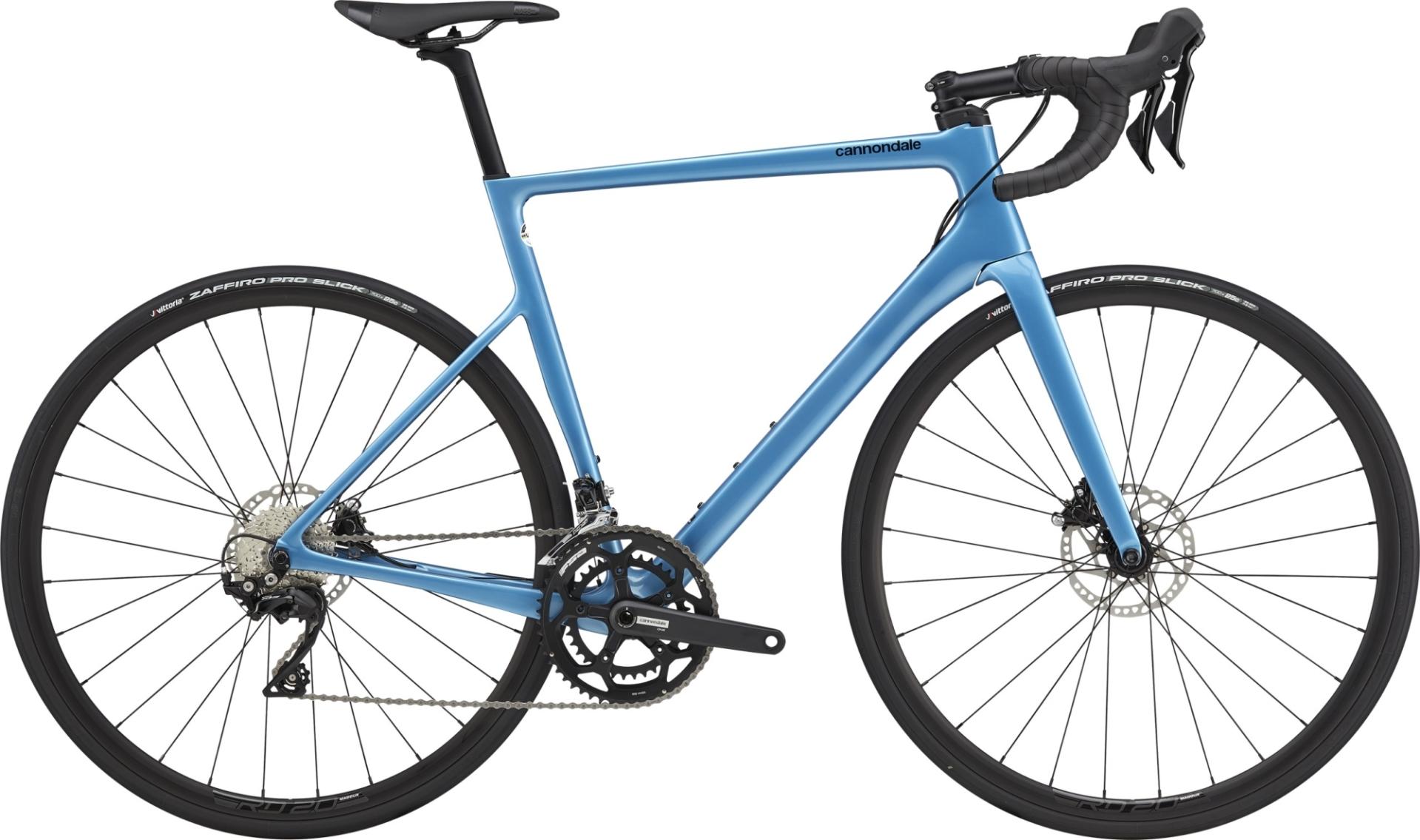 Cannondale SuperSix Evo Disc 105 országúti kerékpár - kék - 58 cm (2021)
