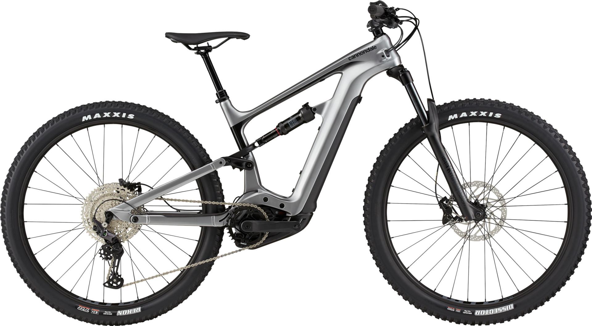 Cannondale Habit Neo 4+ Trail pedelec kerékpár - szürke - S (2021)