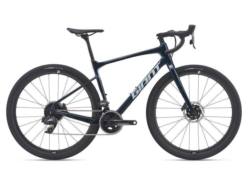 GIANT Revolt Advanced Pro 0 férfi gravel kerékpár - kozmosz kék - M (2021)