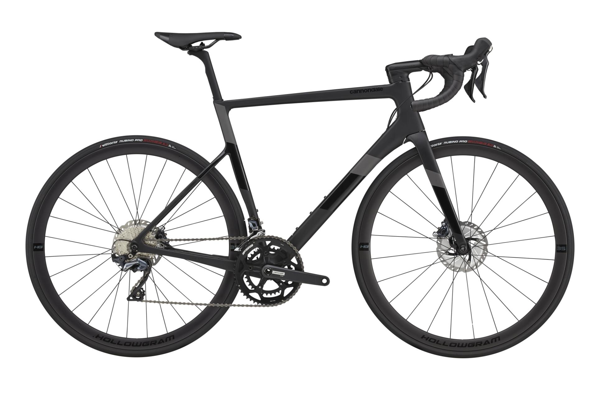 Cannondale SuperSix Evo Disc Ultegra 50/34 országúti kerékpár - fekete - 56 cm (2021)
