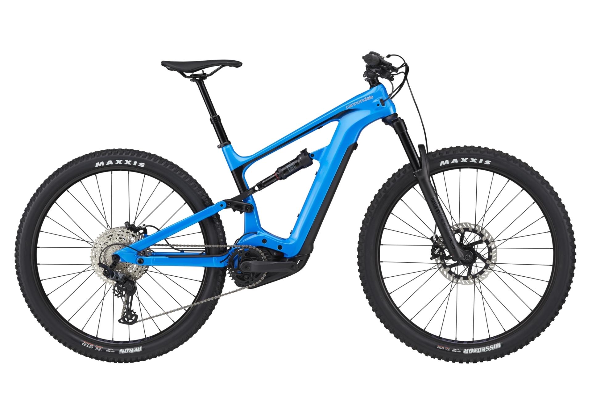 Cannondale Habit Neo 3+ Trail pedelec kerékpár - kék - L (2021)