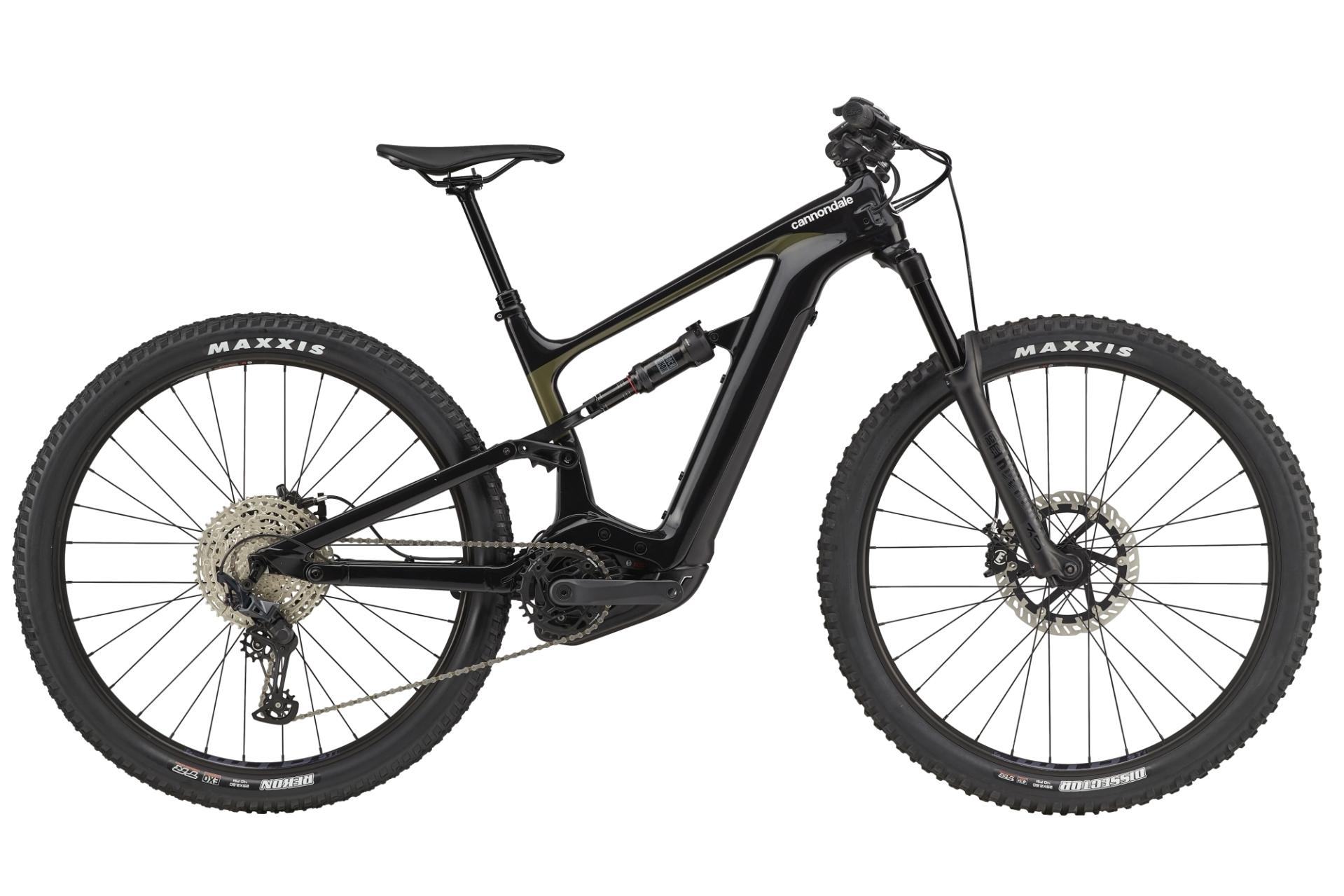 Cannondale Habit Neo 3+ Trail pedelec kerékpár - fekete - L (2021)