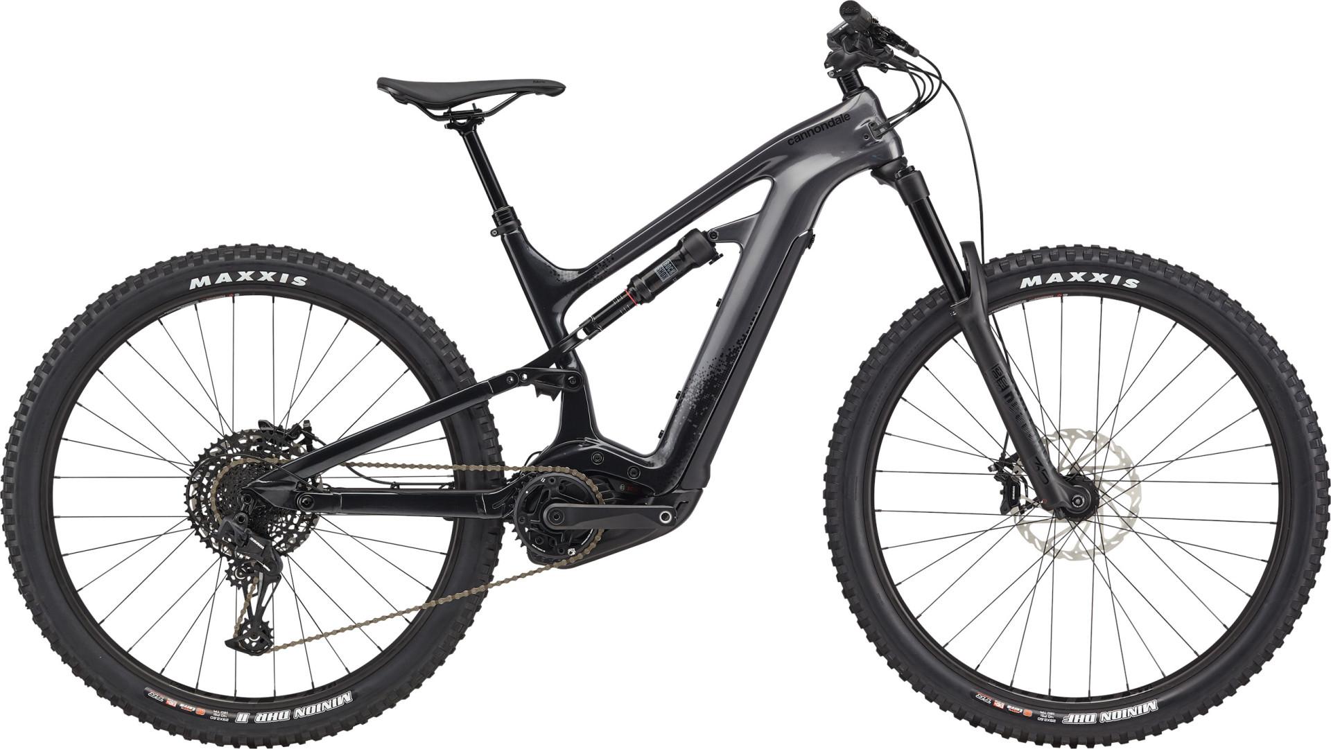 """Cannondale Moterra Neo CRB 3+ férfi 29"""" összteleszkópos MTB pedelec kerékpár - fekete - L (2021)"""