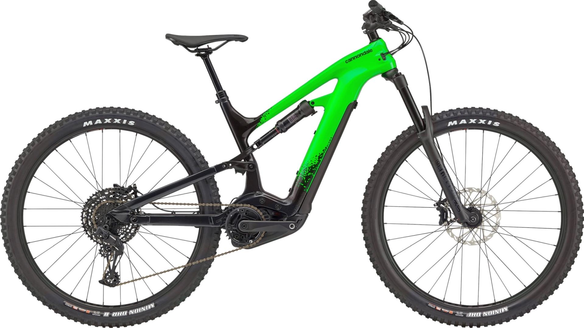 """Cannondale Moterra Neo CRB 3+ férfi 29"""" összteleszkópos MTB pedelec kerékpár - zöld - M (2021)"""