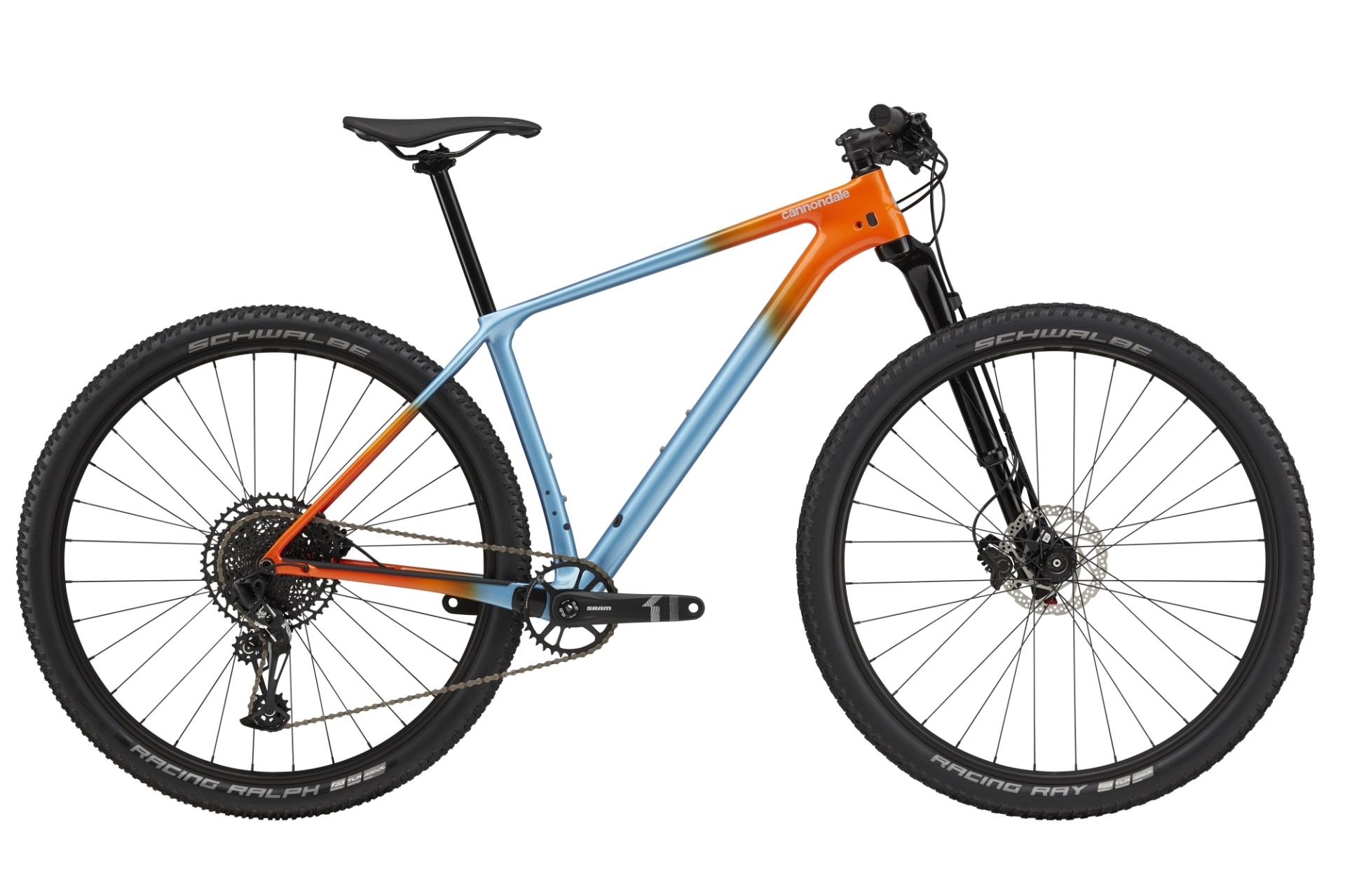 """Cannondale F-Si Carbon 4 férfi 29"""" MTB kerékpár - világoskék - M (2021)"""