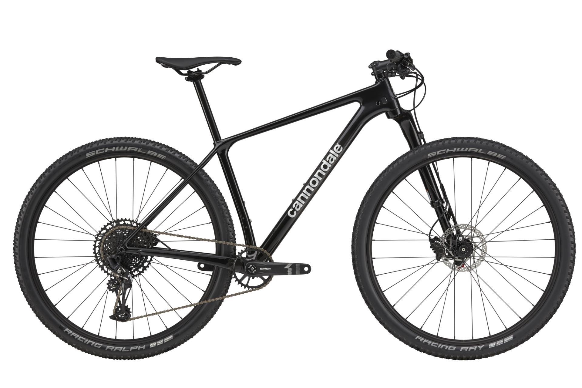 "Cannondale F-Si Carbon 4 férfi 29"" MTB kerékpár - fekete - L (2021)"