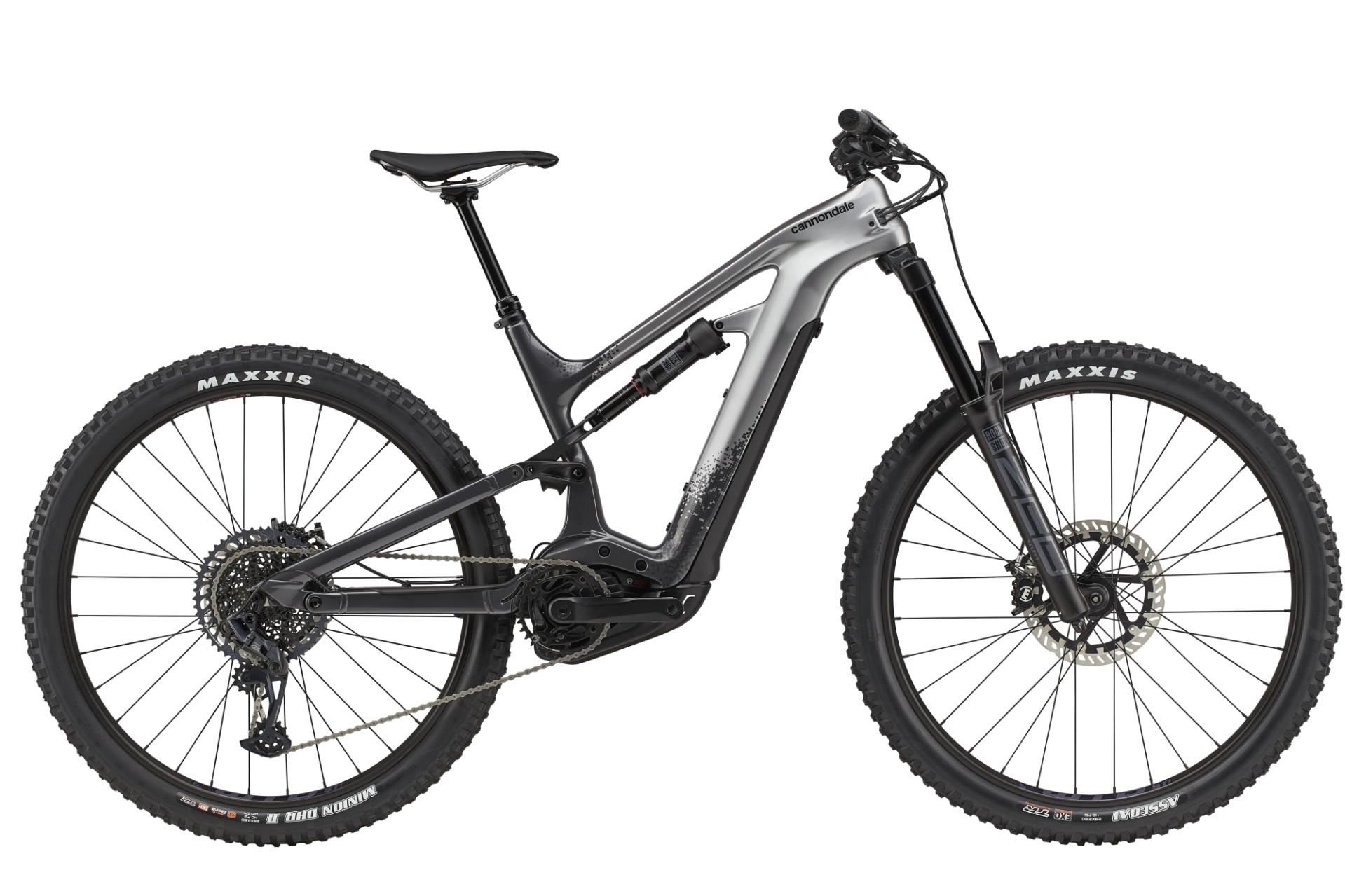 """Cannondale Moterra Neo Carbon 2 férfi 29"""" összteleszkópos MTB pedelec kerékpár - szürke - L (2021)"""