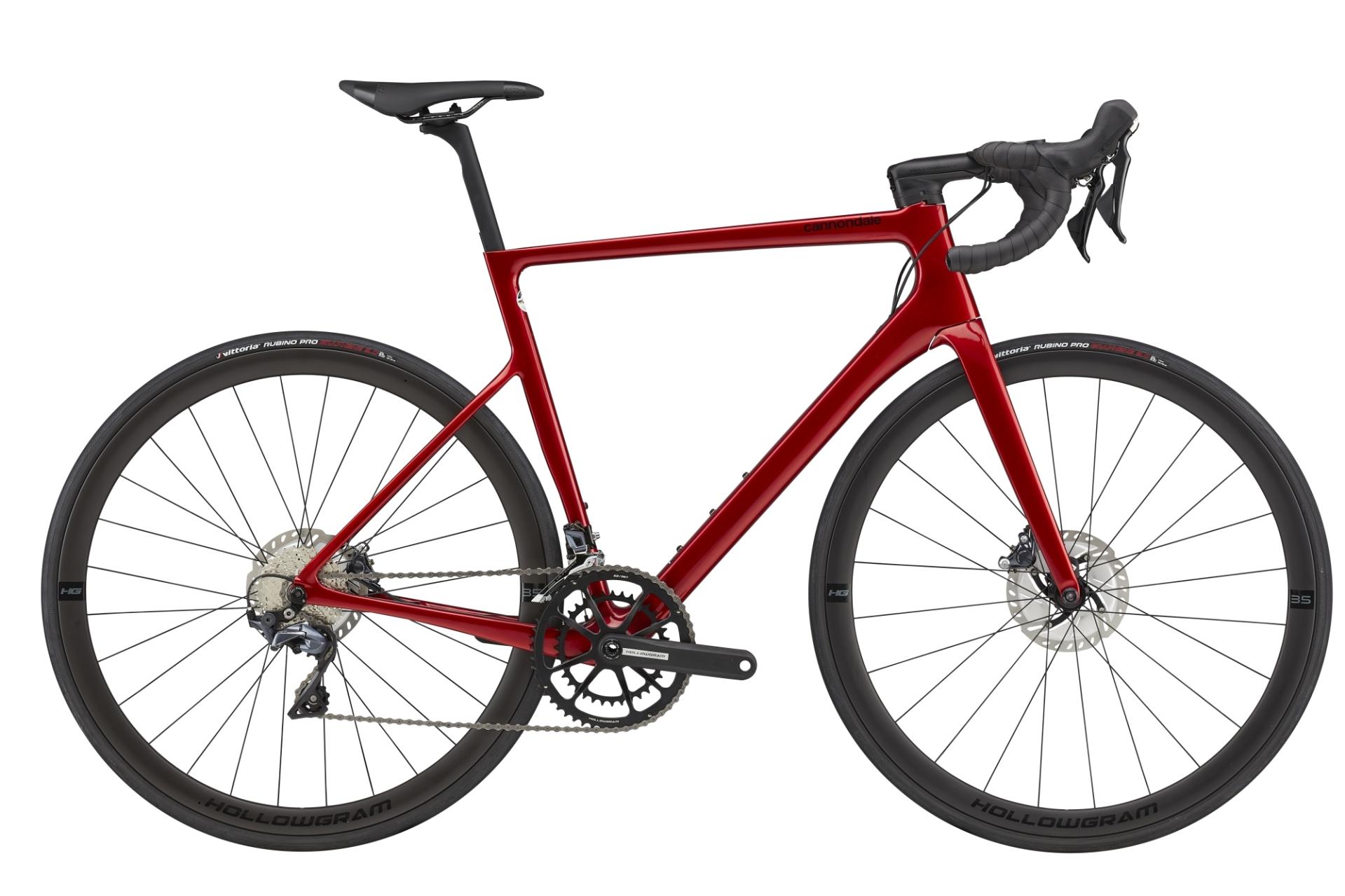 Cannondale SuperSix Evo HM Disc Ultegra országúti kerékpár - piros - 51 cm (2021)