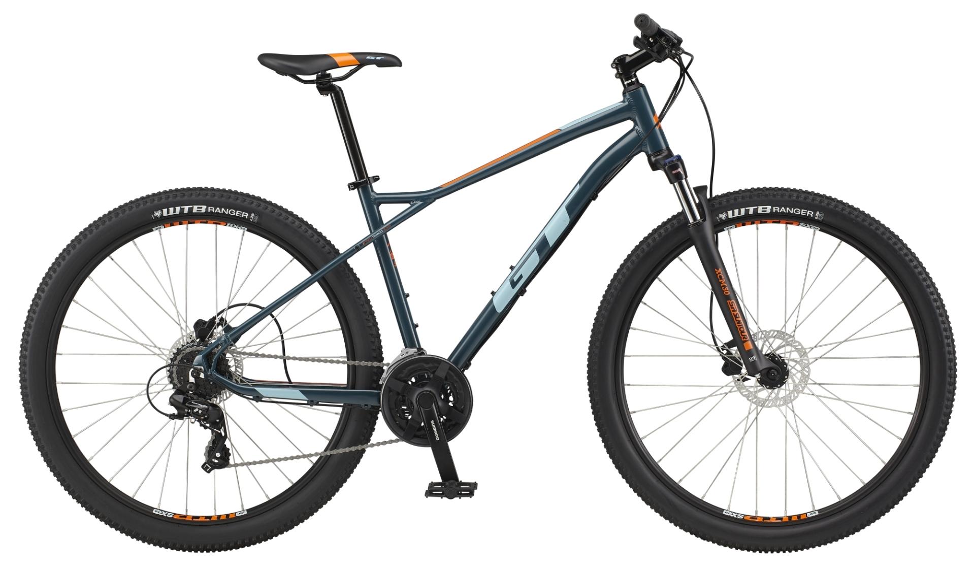 """GT Aggressor Expert férfi 29"""" MTB kerékpár - kék - XL (2021)"""